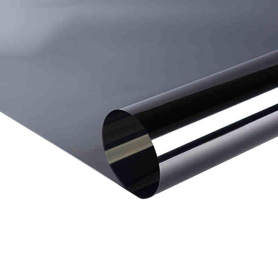 障害夫婦セミナーOUPAI 窓フィルム ヒートブロッキングウィンドウフィルム、抗紫外線熱制御ウィンドウ反射静電気防止粘着片方向フィルムホームおよびオフィス用サングレアリダクション2ピース ガラスフィルム (Size : 100 × 100cm)