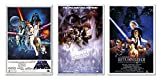 Set Of 3 - Star Wars Original Classics Movie 24x36 Poster