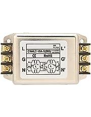 Filtro EMI de potencia supresor de ruido de polo único/doble de 115/250 V 10 A, terminal de filtro EMI de línea eléctrica monofásica universal