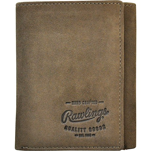 Rawlings Men's Double Steal Trifold, Brown, One Size