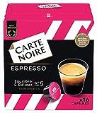 Carte Noire Café Espresso, Capsules Compatibles Dolce Gusto, 6 Paquets de 16 capsules (96 Capsules)