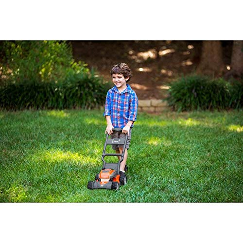 Husqvarna Toy Battery Powered Leaf Blower, Lawn Mower, Lawn Trimmer and Chainsaw