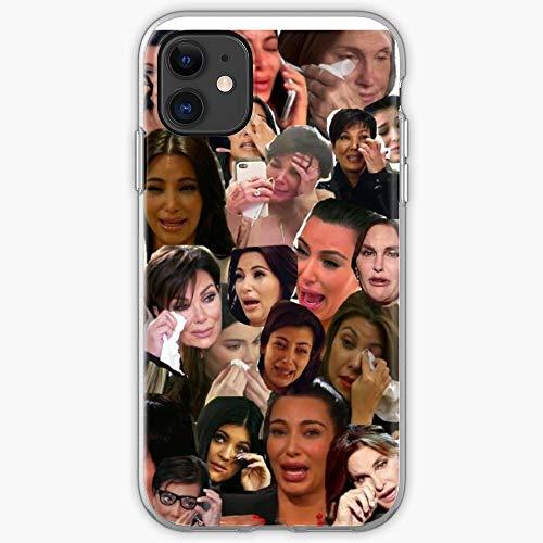 Caitlyn Kendall Trisha Jenner Kim Crying Tv Kris Famous Meme Funny Kylie Bruce Collage Paytas YouTube Khloe Kardashian K | Phone Case for iPhone 11, iPhone 11 Pro, iPhone XR, iPhone 7/8 / SE 2020