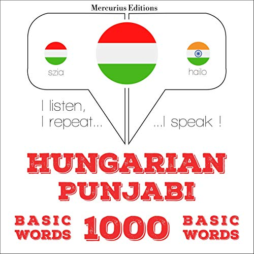 Hungarian – Punjabi. 1000 basic words cover art