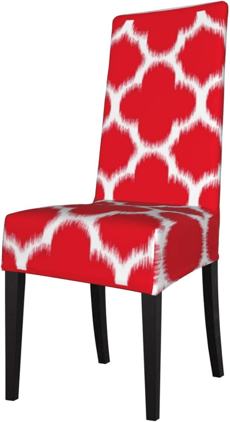 QUAVZI 2PCS Stretch Chair Max 47% OFF Covers for Long-awaited Hip Room Dining Strawb Chic