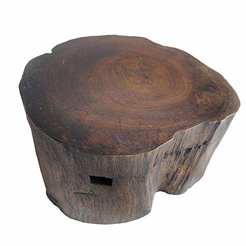 Aschenbecher Aus Massivem Holz Personalisiert Aus Holz Aschenbecher Mit Kreativer Dekoration, 1PC