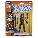 Marvel abanicos Retro de 6 Pulgadas Wolverine (X-Men) Figura de acción Super Hero colección, Color sí. (Hasbro)