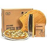 Best Pizza Stones - Cuzi Gourmet XL 3-Piece Pizza Stone Set Review