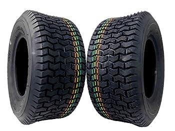 MASSFX Lawn Mower Garden Tires 16x6.5-8 Tire 2 Set MO16658 4 PLY 7.1mm Tread