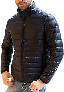 HANAKU ダウンジャケット メンズ 軽量 防風 防寒 暖かい ウルトラライト ダウン コート コンパクト収納 19YR01