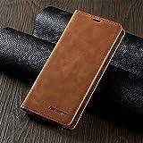 JiuRui étuis et Housses pour iPhone 12 Mini 11 Pro, étui en Cuir de Luxe magnétique Porte-Monnaie...