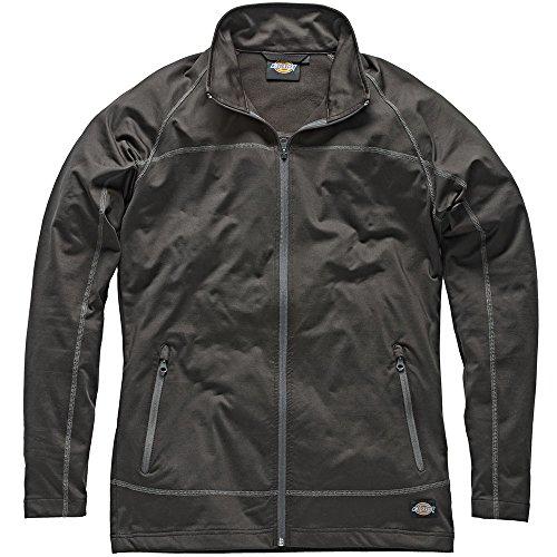 Dickies SH11800 BGY3XL Laton Sweat Zippé Taille 3Xl Noir/Gris
