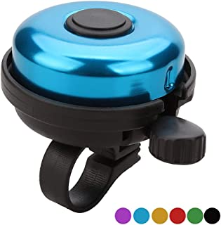 SIKAF MALL Classic Aluminum Bicycle Bell Bike Bell for Adults Kids (7 Colors)