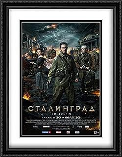 Stalingrad 28x36 Double Matted Large Large Black Ornate Framed Movie Poster Art Print
