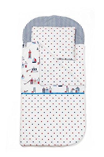 Sango Trade Schlafsack für Kleinkinder Kleinkinderschlafsack Von 3 Bis 6-7 Jahre Schlafsack für Kleinkinder Krippe Kindergarten Zuhause Bettwäsche für Kinderbett  Baumwolle