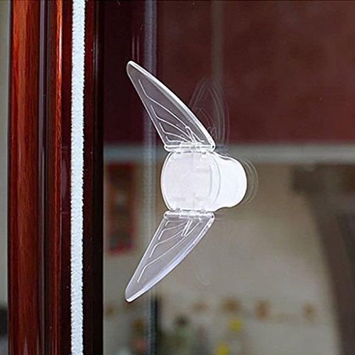 Schiebetür Sperren mit Klebepad für Kinder Baby iZoeL Kindersicherung Schubladenstopp Fenster Sicherung Schloss Schranksicherung Schiebesperre 4 Stck