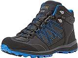 Regatta Chaussures Techniques de Marche Samaris II, Walking Shoe Homme, Ash/Oxford Blue, 40 EU