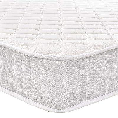 PANANASTORE 3FT 4FT6 5FT Sprung Mattress Foam Breathable Spring Bed Mattress White