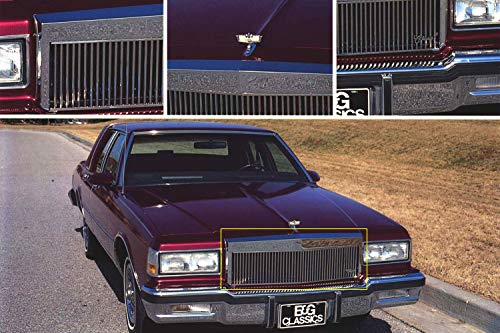 CLASSICS E&G Chevrolet Caprice 1982 to 1990 Low Profile Vertical Grille 1026-0101-82R