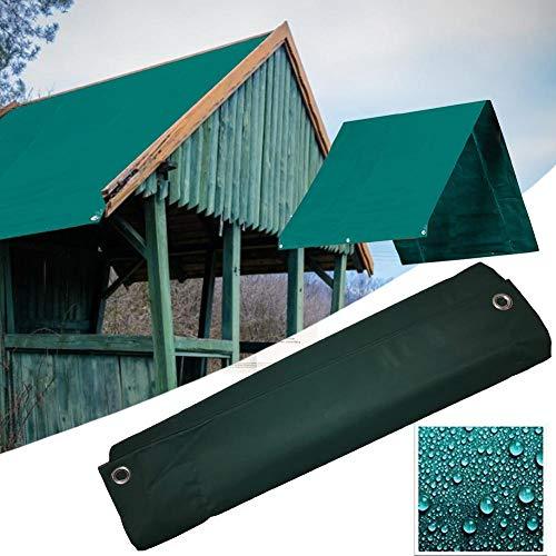 Vervangende luifel voor dak, Dakvervanging/Gazebo-bovenklep, 600D Oxford-doek Zonnescherm Waterdichte valafdekking, Waterdichte tentdakafdekking
