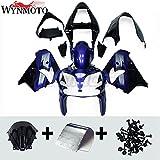 Plastic Blue Black Fairing Kit Fit For Kawasaki 2002 2003 ZX-9R Ninja 02 03 ZX9R ABS Motorcycle Bodywork