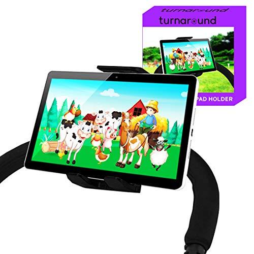 Tablet-Halterung für Kinderwagen, kompatibel mit iPad, geeignet für alle Kinderwagen auf dem Markt