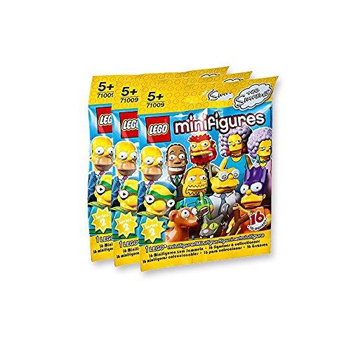 Minifiguren: Die Simpsons 3 Tüten (1 Figur pro Tüte)