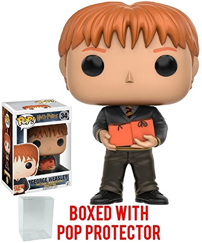 Funko Pop! Movies: Harry Potter - George Weasley Vinyl Figure (Bundled with Pop Box Protector Case) image