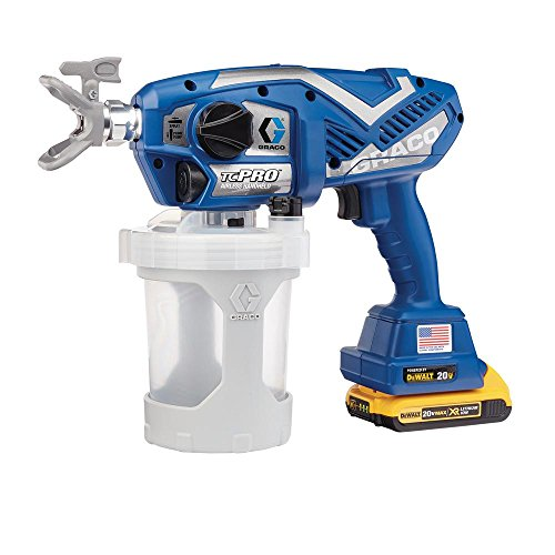 of graco airless sprayers dec 2021 theres one clear winner Graco TC Pro Cordless Airless Paint Sprayer