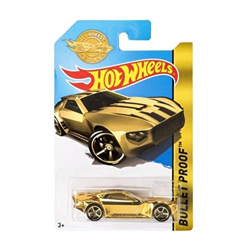 HOT WHEELS 2016 SPECIAL EDITION BULLET PROOF GOLD