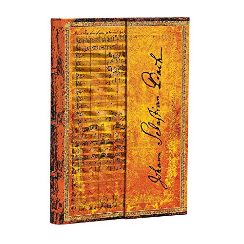 Paperblanks - Faszinierende Handschriften Bach Kantate BWV 112 - Notizbuch Mini Liniert