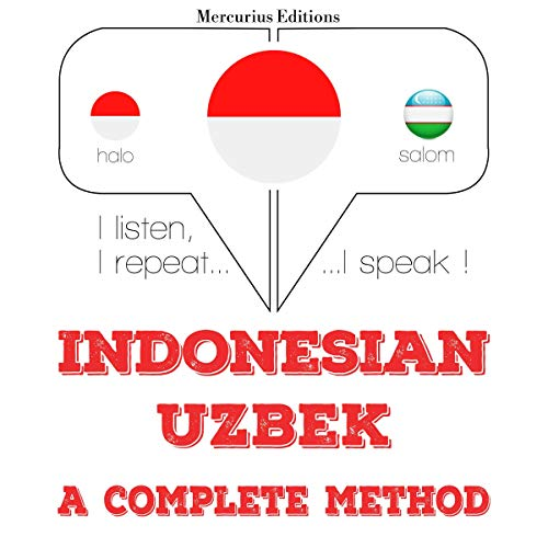 Indonesian – Uzbek. A complete method cover art