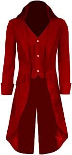 Best red leather pirate jacket Reviews