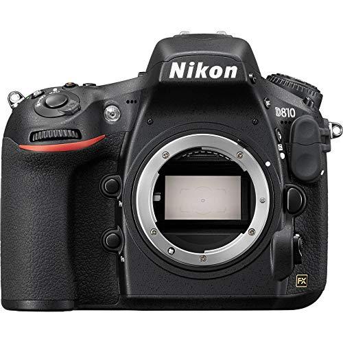 Nikon D810 Digital SLR Camera Body (Renewed)
