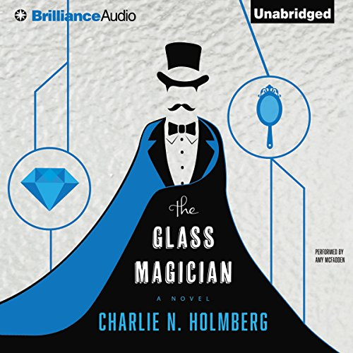 The Glass Magician audiobook cover art
