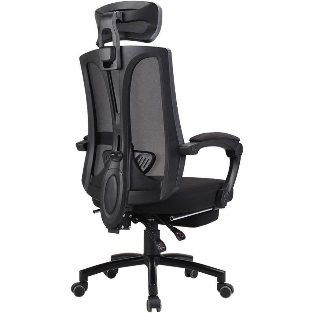 コンピュータチェア快適なホームオフィスチェアバック寮リクライニングゲーミングチェアスイベル寮学生チェアオフィスチェアスイベル調節可能な快適な椅子