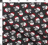 Weihnachten, Totenkopf, Totenköpfe, Design mit kleinen