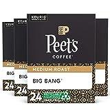 Peet's Coffee Peet's Coffee K-Cup Coffee Pods for Keurig Brewers, Medium Roast, Pods, Big Bang, 24 Count (Pack of 4), (Pack of 1), 96 Count