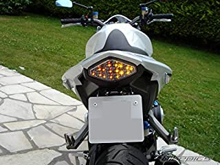 Smoked Lens Motorcycle Led Taillights Brake Tail Light with Integrated Turn Signal Lamp Indicators For Honda 2013,2014,2015 CBR500R,CB500F