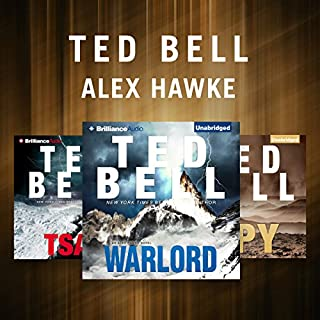 Ted Bell - Hawke Series audiobook cover art
