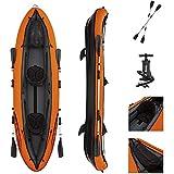 Ouumeis Kayak,330 × 94 Cm,Bote De Agua Inflable Barco De Deriva Barco De...