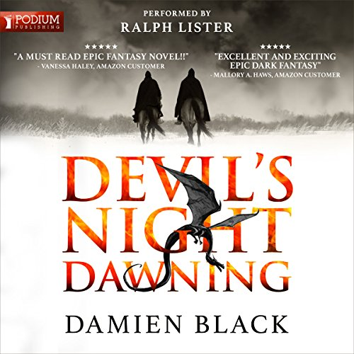Devil's Night Dawning     Broken Stone Chronicle, Book 1              By:                                                                                                                                 Damien Black                               Narrated by:                                                                                                                                 Ralph Lister                      Length: 32 hrs and 36 mins     11 ratings     Overall 4.1