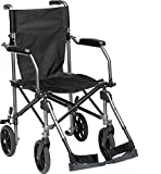 Best Transport Chairs - HEALTHLINE Transport Wheelchair Light Weight With Carrying Bag Review