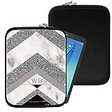 Personalisiert Marmor Neopren Tablethülle Case Tasche (87) für Huawei Honor T1 7.0 (7