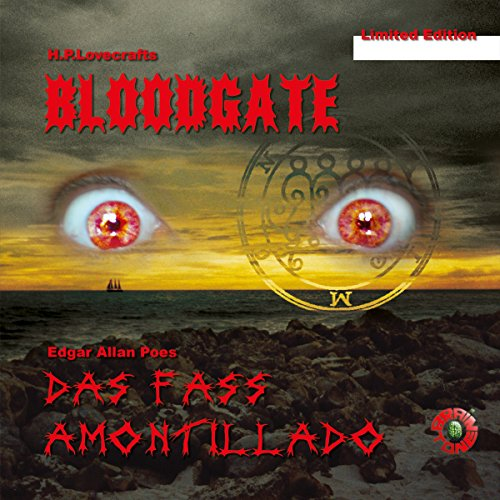 Bloodgate audiobook cover art