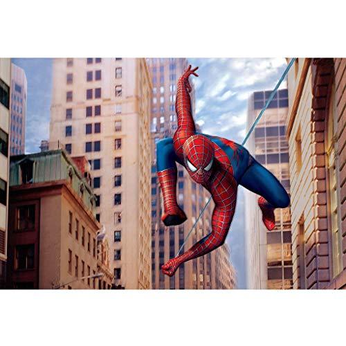 GJWL Madera Rompecabezas, Historieta del Animado Marvel Spider-Man Cartel Rompecabezas, Rompecabezas de Adultos descompresión Regalo de los niños de Navidad de cumpleaños (Color : C, Size : 500pc)