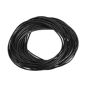 950pcs negro Junta de goma junta Kit para Garniture Arandela Climatización coche Auto vehículo de reparación