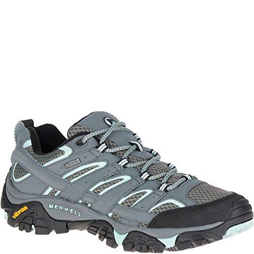 Merrell Moab 2 GTX, Zapatillas de Senderismo para Mujer, Gris (Sedona Sage), 40...