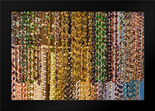 Italy, Venice, Burano Murano Glass Beads Framed Art Print by Kaveney, Wendy