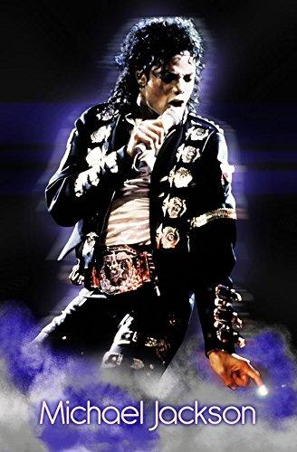 A-HODEC9 Michael Jackson 60cm x 92cm,24inch x 37inch Silk Print Poster
